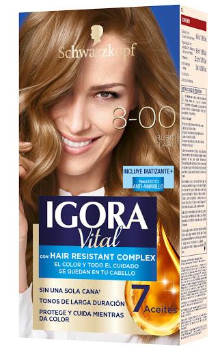Tinte Igora Vital Kit   8.00 Rubio Claro
