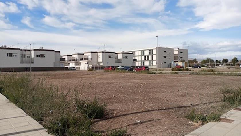 Otras viviendas de protección oficial construidas por el Ayuntamiento de Almería en Costacabana.