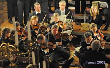 Photo: Streicher im Konzert Schwerin Dom
