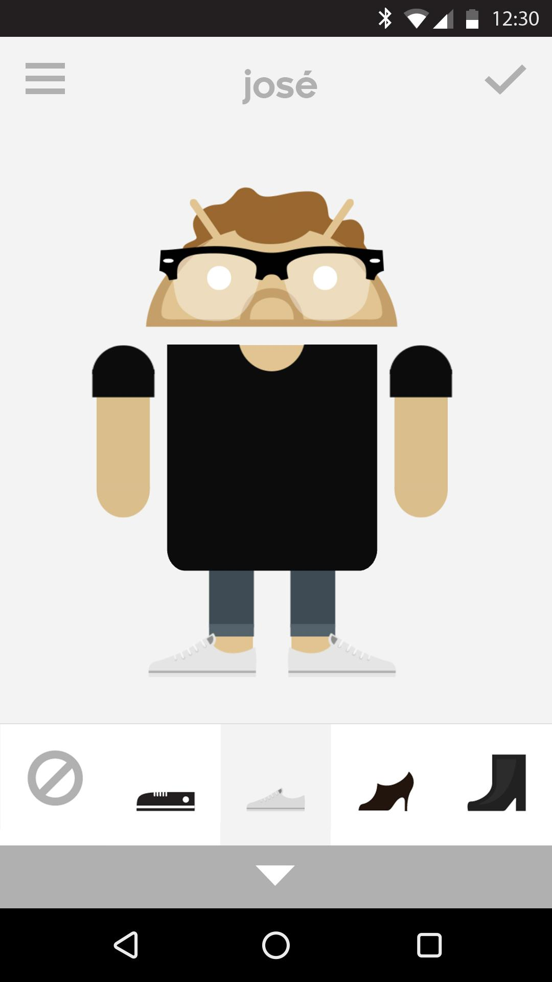 Androidify screenshot #2