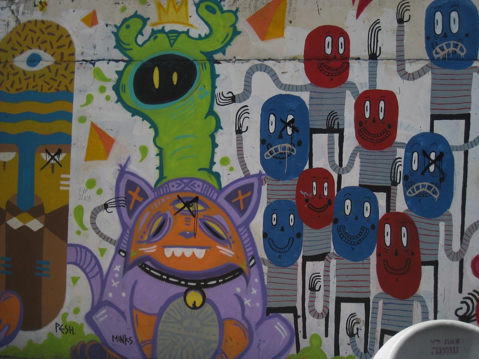 Граффити в Тель-Авиве