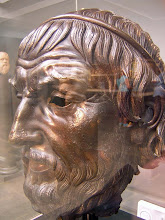 Photo: Bronze head Sophokles? Asia Minor 300-100 BC