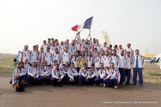 Photo: La délégation à Menzelinsk, Championnats du Monde 2010