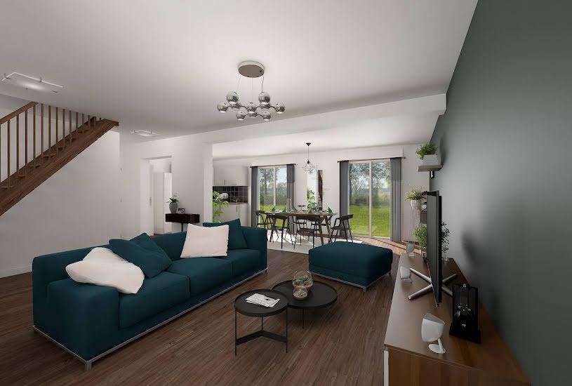 Vente Terrain + Maison - Terrain : 420m² - Maison : 123m² à Guernes (78520)
