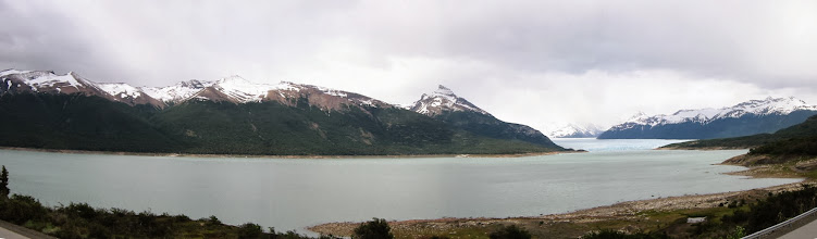Photo: Brazo Rico of Lago Argentino (capped off by the glacier at right)