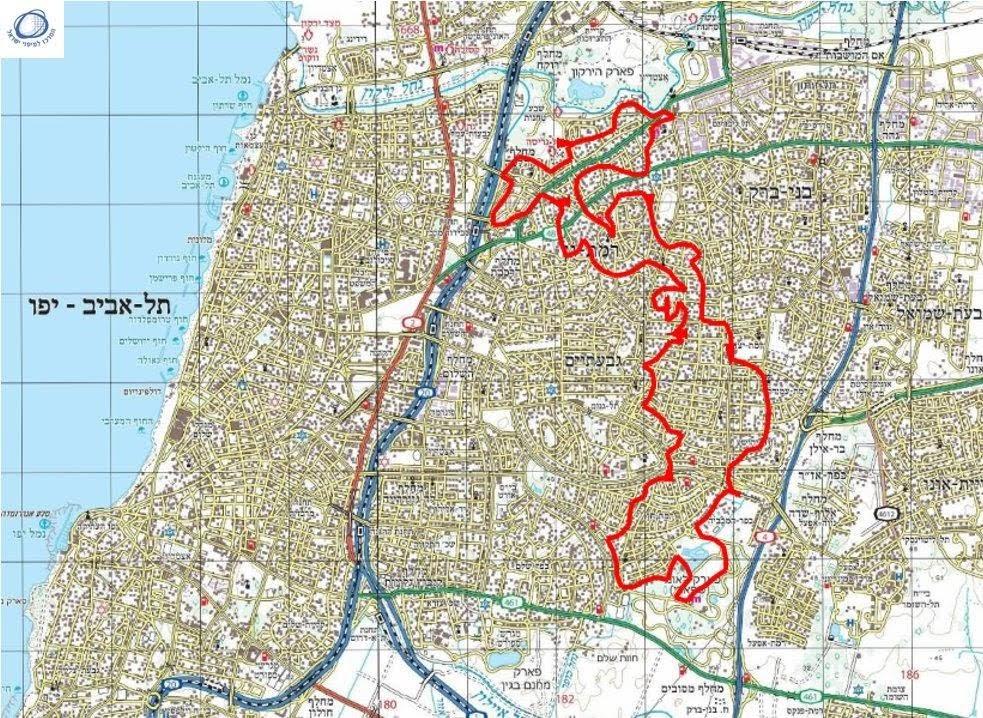 סנסציוני רמת גן, שכונות, גנים ואתרים לאורכה ולרוחבה של העיר - עמירם במשעולי XT-44
