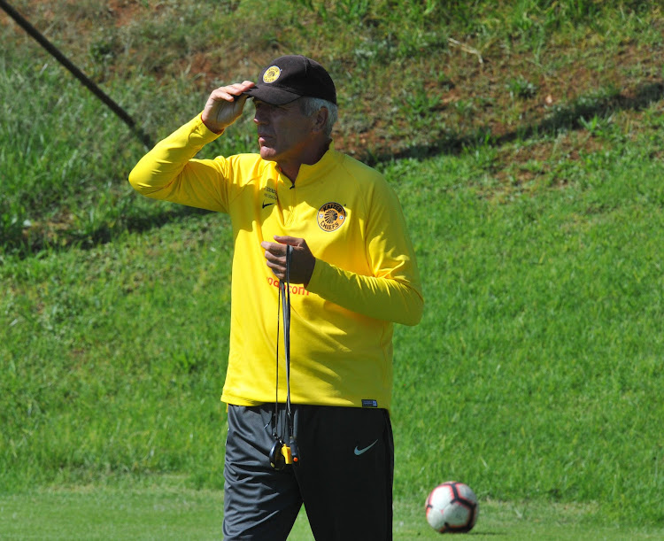 Kaizer Chiefs German coach Ernst Middendorp is two games away from ending the club's three years without winning a major a trophy.