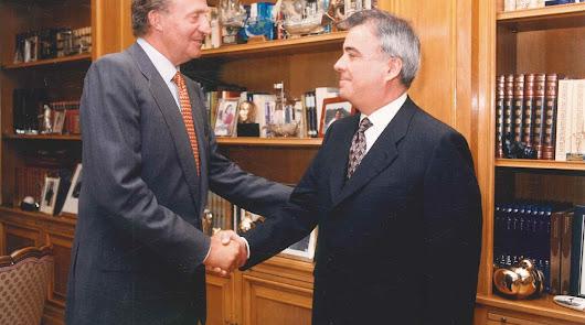 El Lugarico: El Rey Juan Carlos en la Venta Eritaña