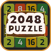 2048 Colorful Number Puzzle