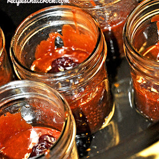 Chocolate Raspberry Mason Jar Brownies