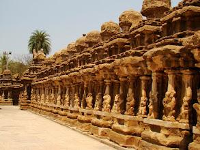 Photo: #021-Kanchipuram, le temple de Kailashanatha