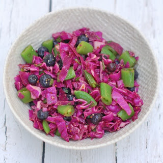 Red Cabbage Blueberry Salad Recipe