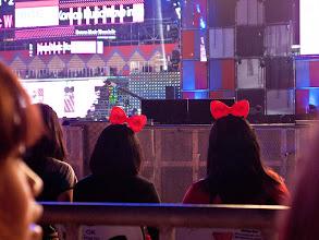 Photo: Fan in the crowd