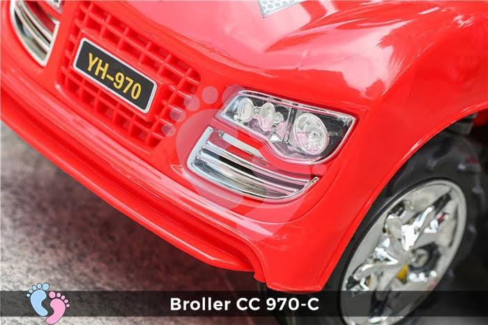 Xe chòi chân Broller CC YH-970C có mái che 4