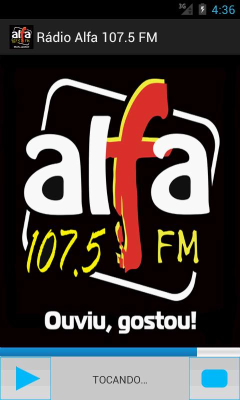 Rádio Alfa 107.5 FM - screenshot