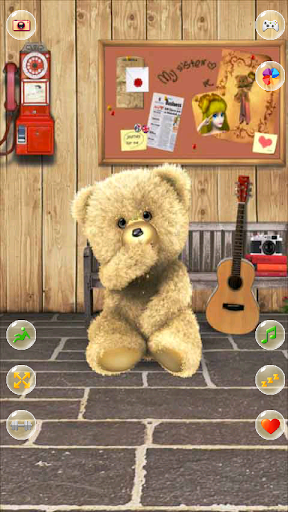 Warren the Charity Bear - a free teddy bear pattern | Shiny Happy World