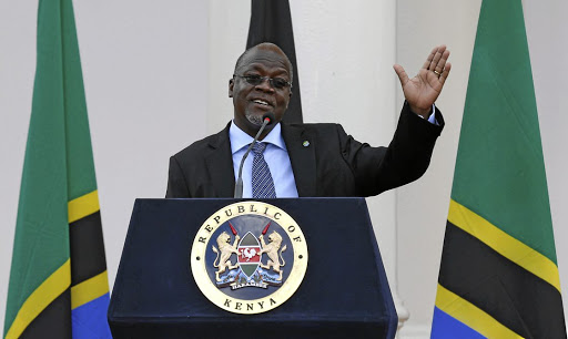 Fact act: President John Magufuli has to approve changes to the law that punishes those who question state statistics.. Picture: REUTERS