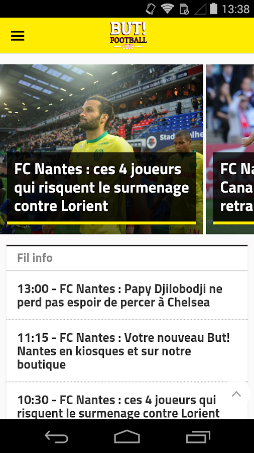 But!  Nantes- screenshot