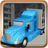 Truck Transport Trailer 3d