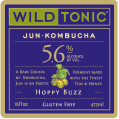 Logo of Hoppy Buzz Jun Kombucha