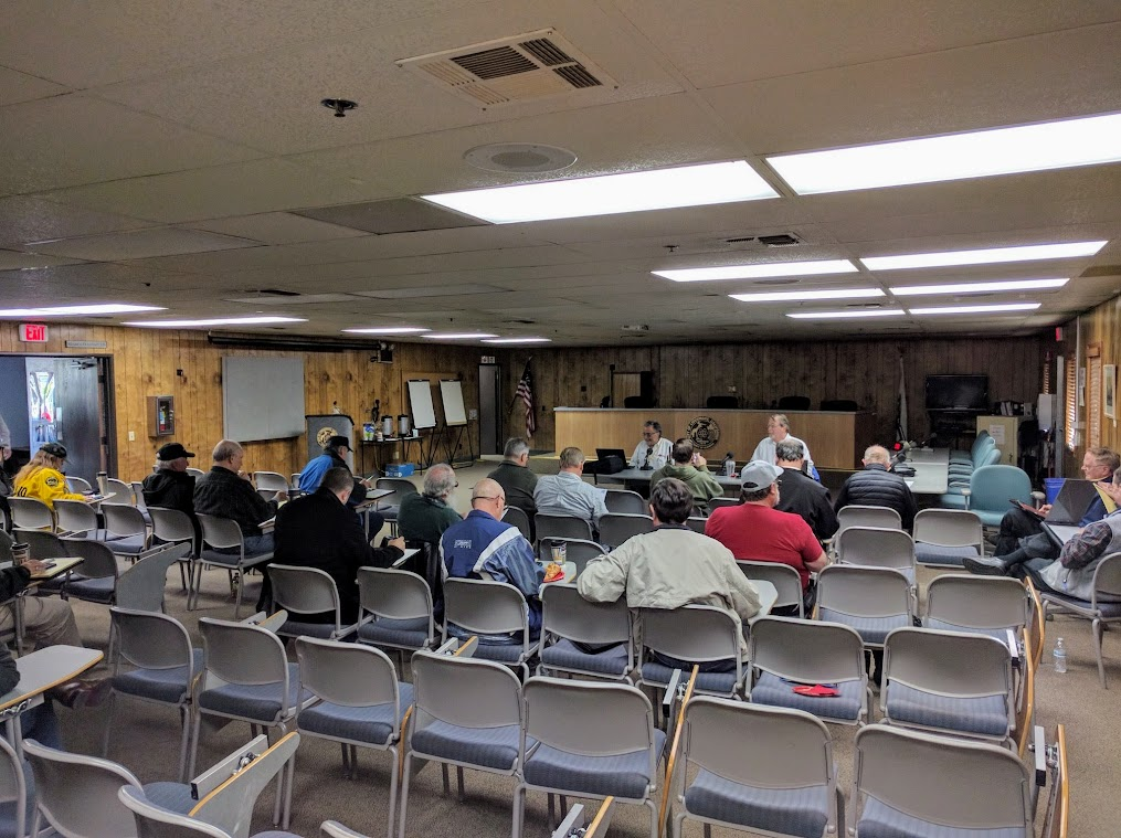 At the 12/3/2016 #ARRL Pacific Division Leadership Meeting in Livermore, California Photo by Guy Mallery W6MSU