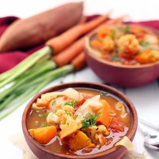 Fall Detox Vegetable Soup.