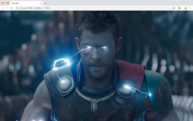 Thor: Ragnarok HD New Tab Movies Themes