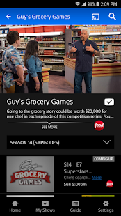 PlayStation Vue Mobile- screenshot thumbnail