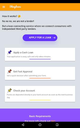 Shinyloans | Cash Advance – Online Personal Loans App Report