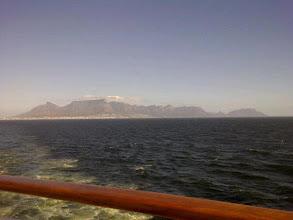Photo: Table Mountain fading away