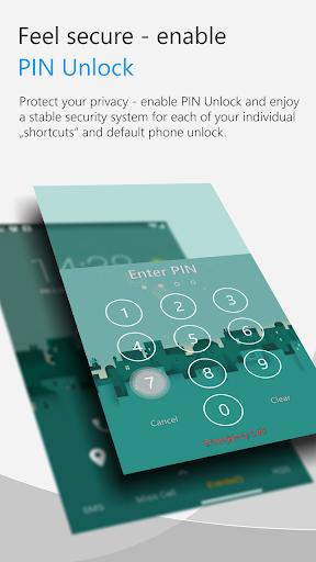 C Locker Free (Widget Locker) screenshot 4