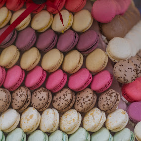 pyramid macaron  by Jean-marc Payet - Food & Drink Candy & Dessert ( cake, macaron, wedding, pyramid, food, france, pastry, crafts, dessert )