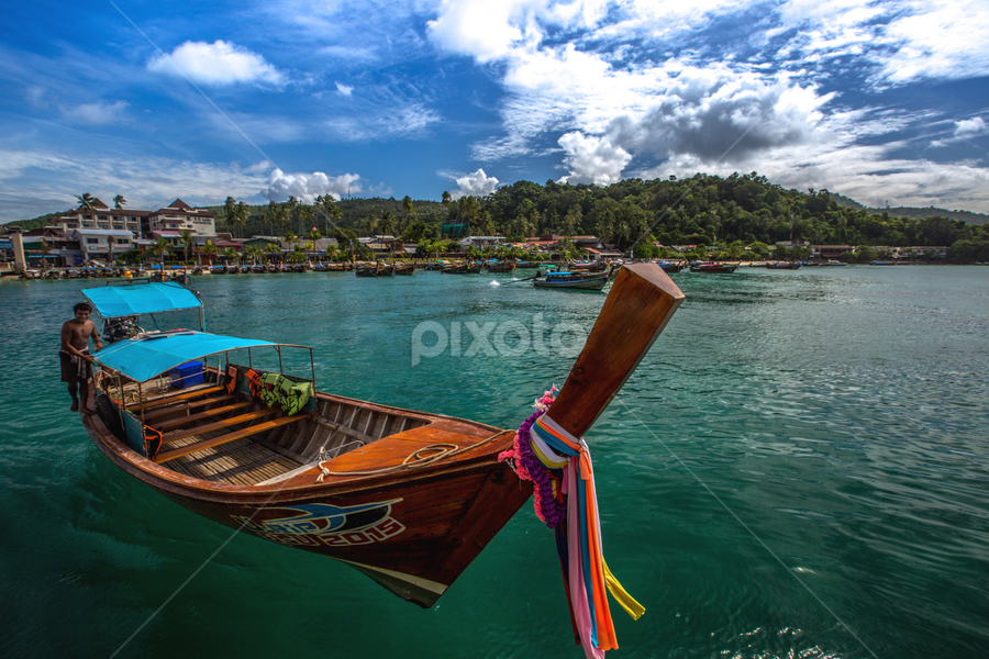 Phi Phi Islands by PS FOONG - Transportation Boats