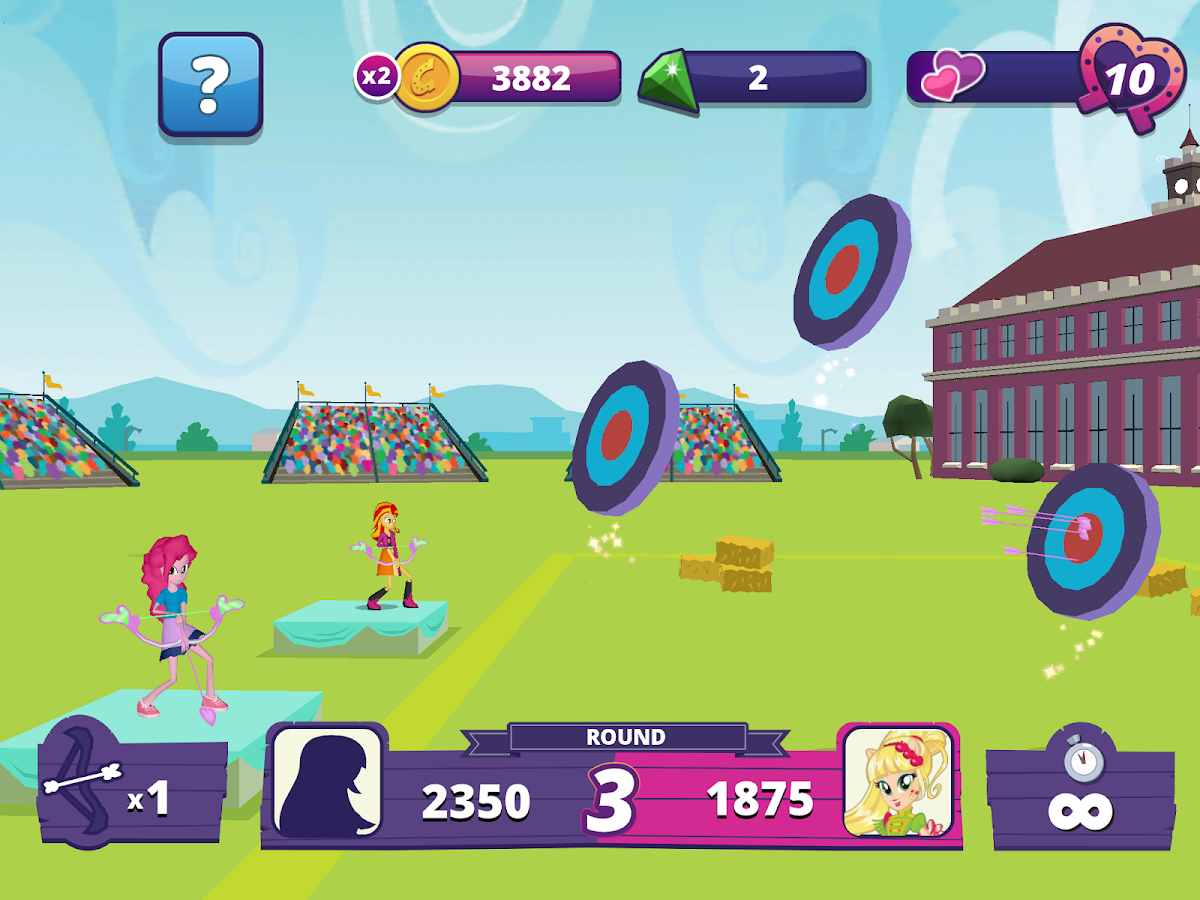 Screenshots of Equestria Girls for iPhone