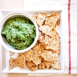 Spinach and Artichoke Dip (Vegan & Gluten-Free).