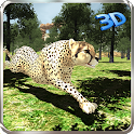 Wild Cheetah Jungle Simulator icon