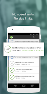 µTorrent®- Free Music and Video Torrent Downloader Screenshot