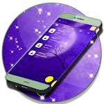 Free 2017 Purple SMS Theme Icon