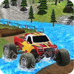 Monster Truck Offroad Derby Icon