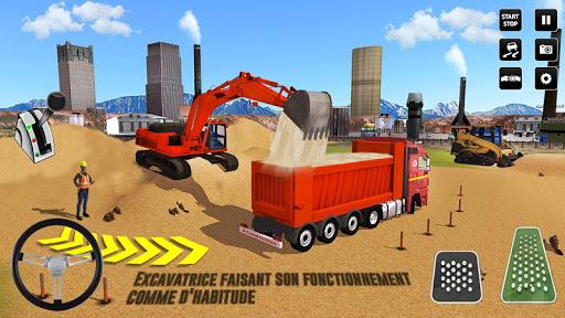 Code Triche ville construction sim: chariot u00e9lu00e9vateur camion APK MOD screenshots 4