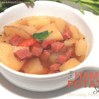 Easy Ham and Potato Soup for Lazy People!