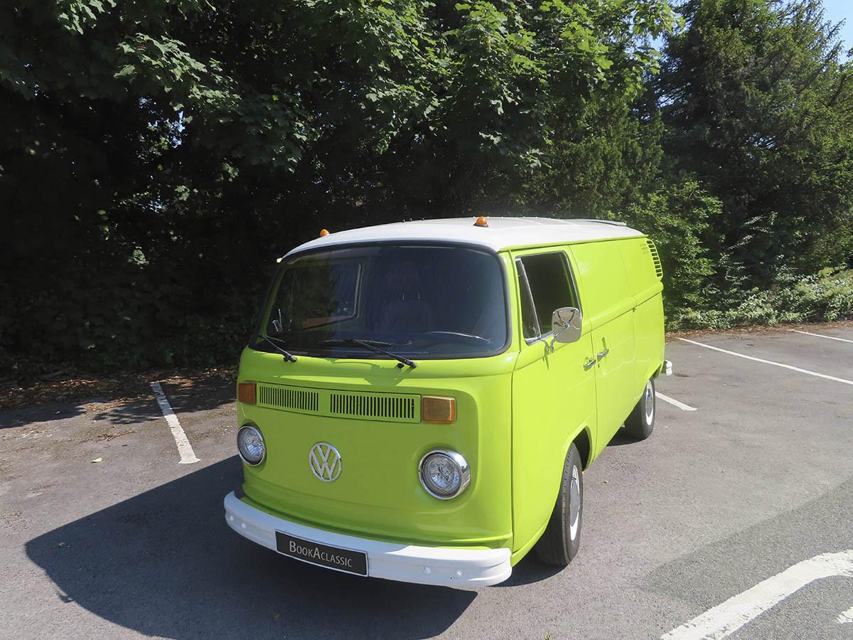 Volkswagen Transporter T2 Hire Worcestershire