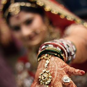 Mehndi by Vinshul Manchanda - Wedding Bride ( weddings, india, bride, people )