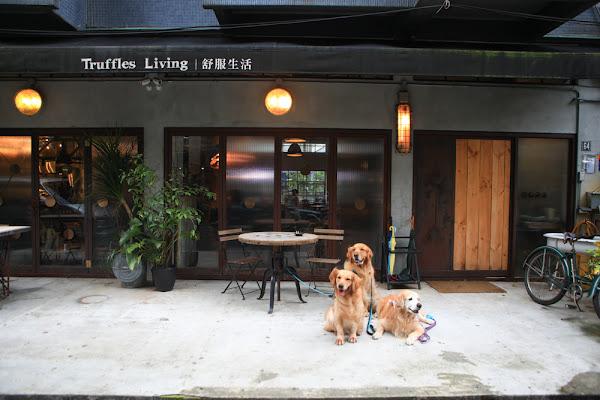 台北信義安和美食、寵物友善餐廳|舒服生活 Truffles Living 歐洲老古董懷舊咖啡廳