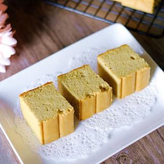 Wholemeal Pandan Sponge Cake 全麦香兰海绵蛋糕.