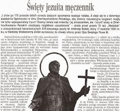 """Photo: Artykuł prasowy """"Źródło"""", 2005 r. (fragment)"""