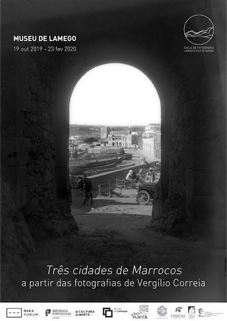 """""""Três Cidades de Marrocos"""" de Vergílio Correia no CICLO DE FOTOGRAFIA do Museu de Lamego"""