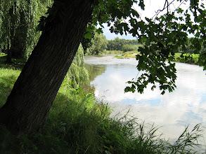 Photo: Strazky, im Schlosspark (mit dem Fluss Poprad)