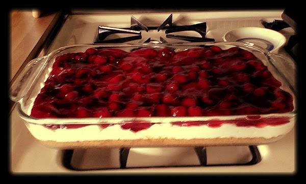 Cherry Cheese Dessert Recipe