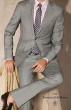 Photo: costume sur-mesure par tailleur homme paris photo issue de l'album anteprima de Ermenegildo ZEGNA tissus pour les tailleurs pour www.klodawski.com